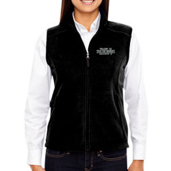 SQ-12 Ladies Fleece Vest Thumbnail